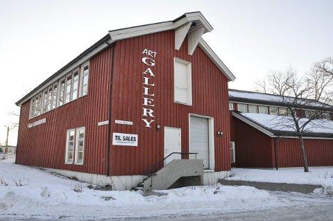 Solgt: Vågan kunstsenter ble solgt for 4,11 millioner kroner.   Foto: Åshild marita Håvelsrud