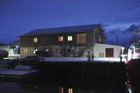 GJENOPPBYGGER: Kleppstadfisk AS bygger opp fiskebruket på Kleppstad. Foto: Kai Nikolaisen