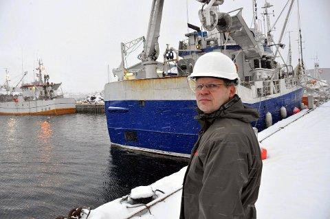 Skuffet: Daglig leder ved Ballstad Slip, Roger Abrahamsen.