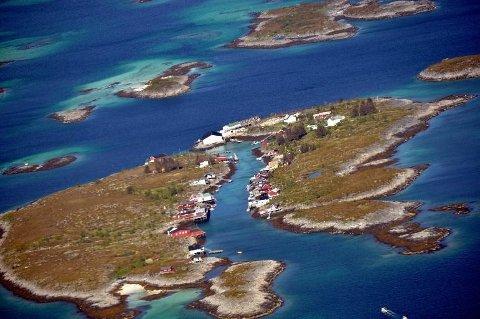 I området Risvær (bildet) Årstein err det søkt om å ta ut prøver av korallsand