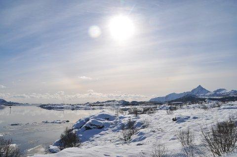 Skjærtorsdag viste Lofoten seg fra sin absolutt beste side. Dessverre vil godværet ikke vare lenge.