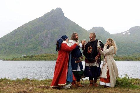 SAGASPEL: Dette bildet er fra sagaspelet i 2008 har ingenting med dommen å gjøre. Arkivfoto: Kjell-Ove Storvik