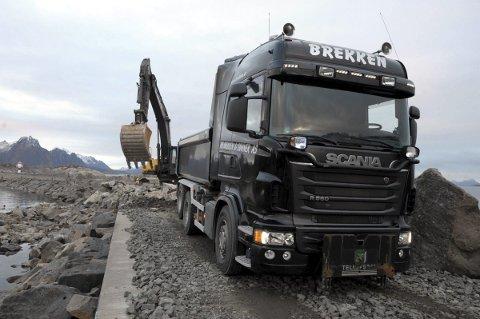 OPPDRAG: Alf Brekken & Sønner AS har fått et nytt oppdrag i Tromsø. Arkivfoto: Knut H. Johansen