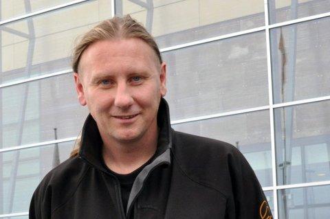 Geir Ove Andersen i Figurteateret i Nordland.