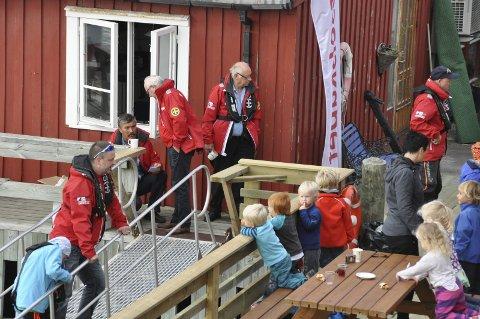 Østre havn: Redningsselskapets base «RS Fyrtårn» i Svolvær blir stedet for feiringen for barn, unge og voksne kommende lørdag.