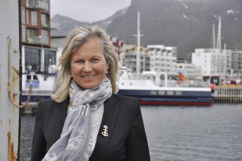Skryter : Kristin Krohn Devold er administrerende direktør i NHO Reiseliv og arrangerer Årskonferanse 2016 med base i Svolvær. Hun mener regionen har mye å vise til innenfor næringa, men er kritisk til turistsskatt.
