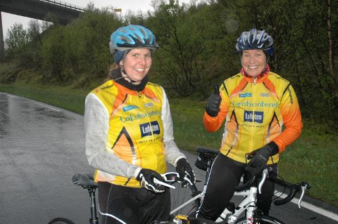 Siv Renate Johansen og Wenche Bøe ble henholdsvis nummer to og en i kvinneklassen.