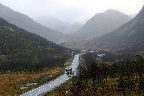 Sørdalen kan skape utfordringer på vinteren når E10 ikke er brøytet
