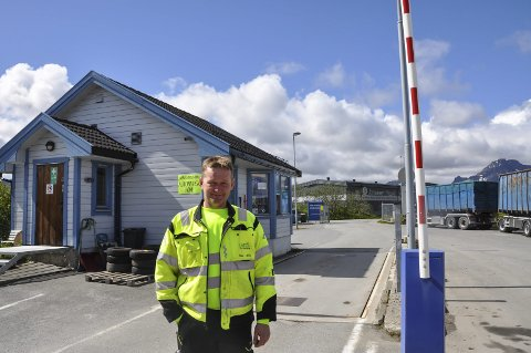 Ny driftsleder: Odd-Arne Rasmussen er allerede godt i gang med arbeidet som driftsleder på LAS. FOTO: Synne Mauseth