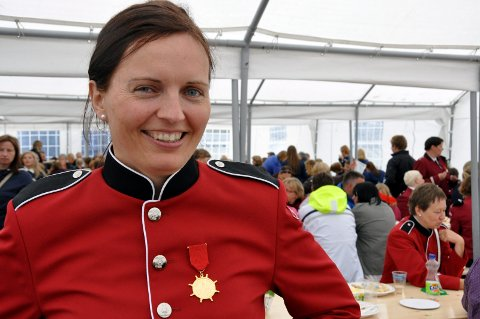 General: Anniken Aarstein leder stevnet. Foto: Gullik Maas Pedersen.