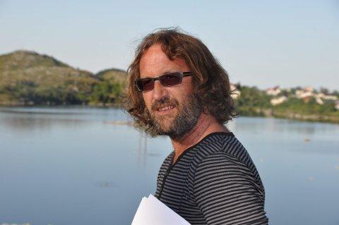 MÅ SIKRES PLASS: Bjørn Jensen i Moskenes SV frykter at fiskeriene fortrenges helt fra havneområdene i kommunen.