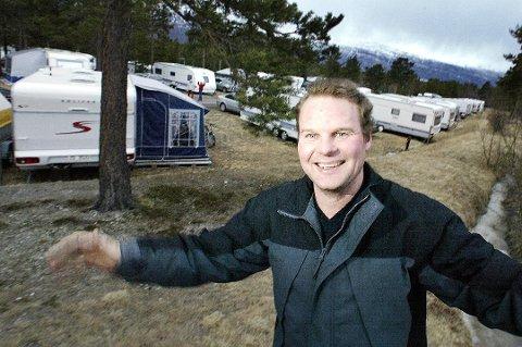 Også i 2015 kunne innehaver Geir Johnsen glede sge over høye tall i avstemningen Min Campingfavoritt