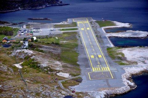Rammes: Hålogalandsveien vil ifølge prognosene til Avinor i 2026 redusere passasjertallet på Svolvær lufthavn til 85.000 mot 95.000 i fjor.
