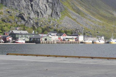 I Flakstad leverer i vannverket nok vann til brannslokking.