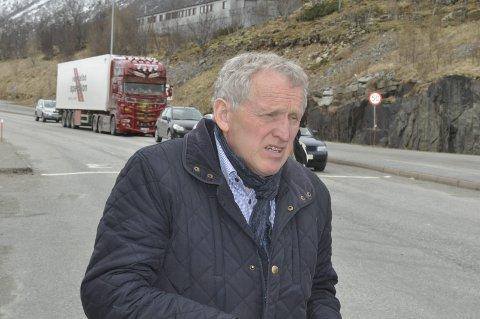 Gang- og sykkelvei: Regionveisjef Torbjørn Naimak ser alle forslag om gang- og sykkelveier i Lofoten i sammenheng med Veipakke Lofoten. Veipakken ligger i Nasjonal Transportplan etter 2024. arkivfoto. MAGNAR JOHANSEN