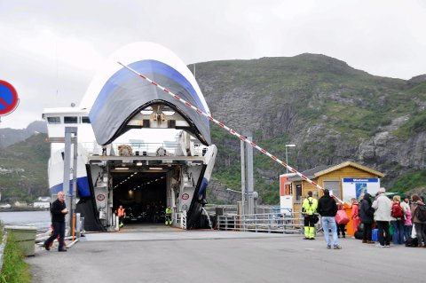 Moskenesferga MF Bodø.