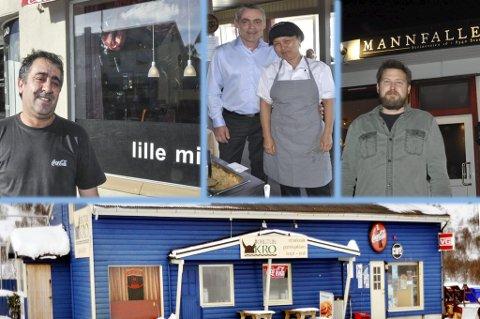 Innehaverne av Lille Milano, Kanchana Thairestaurant, Mannfallet og Borgtun kro må etter mange års drift levere papirer og få brukstillatelse fra kommunen.