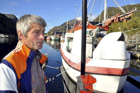KVOTE:-Har du solgt kvoten bør du vurdere om du skal være fisker videre, mener Svein-Arne Arntzen som er leder i Flakstad Fiskarlag. Foto: Magnar Johansen