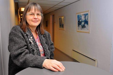 Solrun Holm, prosjektleder for Utviklingssenter for hjemmetjenester i Nordland. Et senter som er opprettet av Vestvågøy kommune, etter at de fikk status som opplæringskommune i hjemmetjenesten.