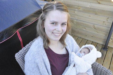 Forandret: Livet har tatt en helt ny vending for Sandra og kjæresten Simen som bor i Bodø.