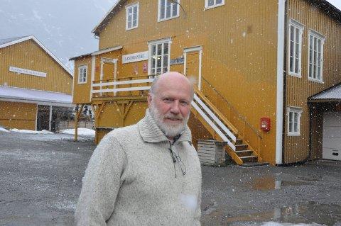 Bygger ut: Roar Jacobsen og Nusfjord AS bygger 20 nye utleieenheter som skal stå ferdig i 2019. Den nye hovedaksjonæren i selskapet, Carl Erik Krefting, vil ha høyere standard og bedre overnattingskapasitet. Jacobsen var en av flere som kjøpte Nusfjord i 2003.60 millioner kroner er investert i løpet av 14 år. ARKIVFOTO. MAGNAR JOHANSEN