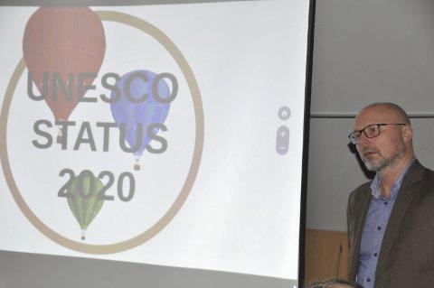 Unescostatus: Sier kommunene ja håper daglig leder i Lofoten Matpark, Sigve Olsen, at Lofoten kan få Unesco-status som modellområde for bærekraft i 2020. «Man and the biosphere».er den engelske tittelen på prosjektet som matparken vil bruke 2018 til å gi et lokalt innhold. – Bærekraft handler ikke bare om miljøvern og grønn satsing, men også om å skape trivelige bygder og lokalsamfunn, sier Olsen.