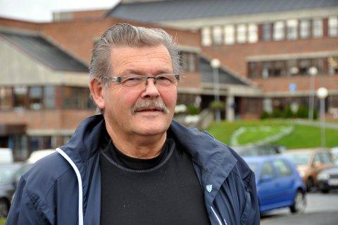 Fornøyd: Ivar Olufsen passerte to millioner i inntekt i fjor. Han forklarer det med godt fiske og kvotesalg. Foto. Kai Nikolaisen