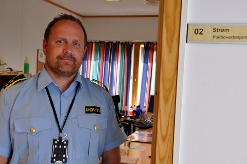 Politioverbetjent Dag Sture Strøm.