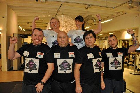 Fjorårets Team Tæl imponerte stort. Fra venstre: Stein-Ove Nikolaisen, Hege Jakobsen Kolberg, Daniel Henriksen, Siss Mari Stanojevic, Steinar Evjen og Roy Andre Thuv
