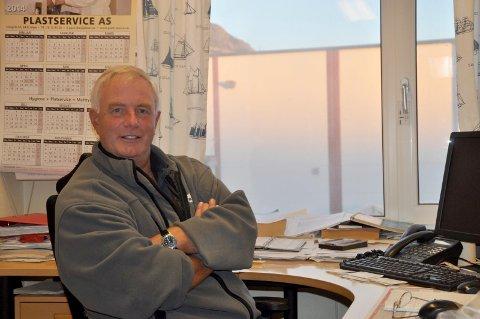 Trekker seg tilbake: Daglig leder Aage Eriksen skal trekke seg tilbake og blir konsulent når Robert Johansen er på plass i vår.Foto; Arkiv