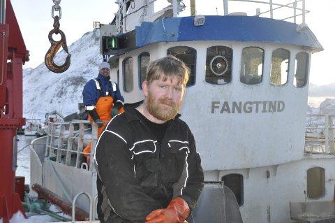 SATSER: Raymond Ramsevik fra Mørkved i Flakstad har satset store summer med kjøp av «Fangtind» med kvoter. Alle foto: Kai Nikolaisen