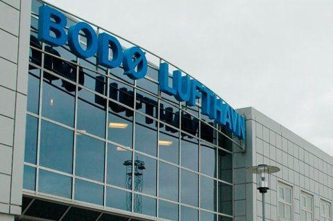 Bodæ lufthavn er en av fire som er tatt ut dersom det blir streik søndag