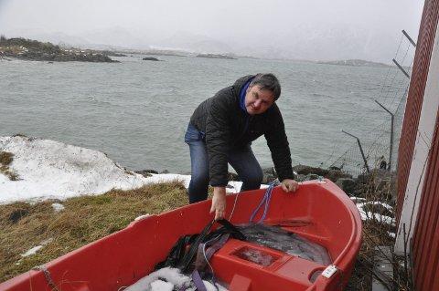VRAKPANT: Leder i Nordland Høyre, Jonny Finstad, er fornøyd med at landsmøtet vil skjerpe innsatsen mot plastsøppel i havet. Høyre vil blant annet innføre vrakpant for fritidsbåter og la fiskere levere marin avfall gratis i havnene. FOTO: MAGNAR JOHANSEN