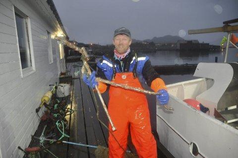 Stor motstand: Børge Iversen håper landsmøtet i Arbeiderpartiet avviser kompromissforslaget om å konsekvensutrede Nordland 6 for oljevirksomhet. – Jeg frykter fiskerne vender ryggen til Ap om forslaget blir vedtatt. FOTO: KAI NIKOLAISEN