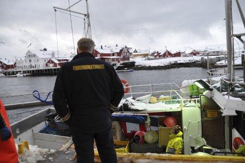Følger med: Fiskeridirektoratet vil følge med at lover og regler overholdes.