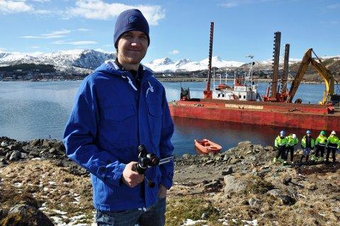 Asbjørn Pettersen har rimelig mye å gjøre om dagen. Han lover at det vil komme mer før finaleuka over omme.