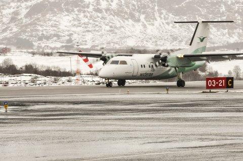 Fikk problemer: Det var et fly av denne typen som Widerøe opplevde problemer med på to ruter: Både den 14. november og 23. november måtte samme fly skru av én av to motorer.
