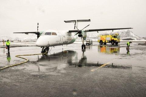 Ønskeliste: Lofotkommunene har sendt Nordland fylkeskommune flere konkrete ønsker for arbeidet med nye flyruter fra 2022.