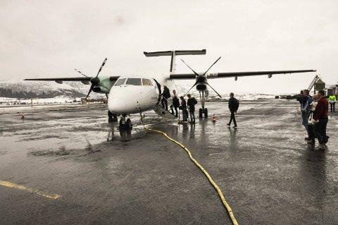 Får støtte: Fylkesrådet i Nordland støtter opp om anbefalingen for ny flyplass.