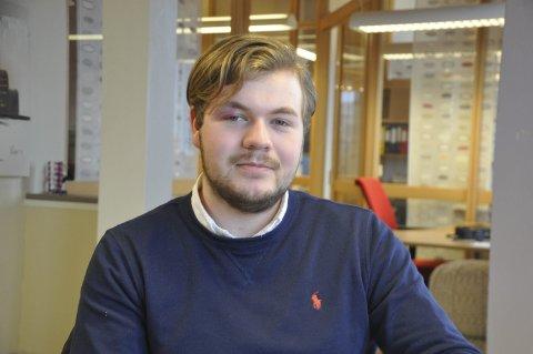 EUROPA: Unge Høyres Øyvind Myklebust Sivertsen vil at Høyre skal bli tydeligere for norsk EU-medlemskap.