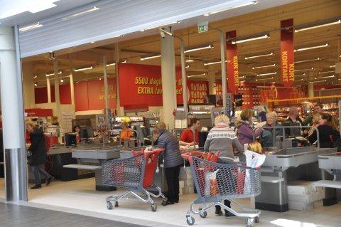 Handel: Det handles godt i Vestvågøy. Ill.foto: Kai Nikolaisen