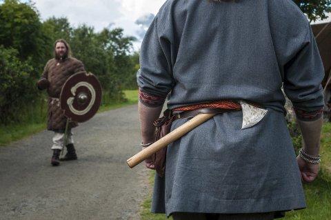 Lofotr: Vikingene er populære som aldri før. Illustrasjonsfoto