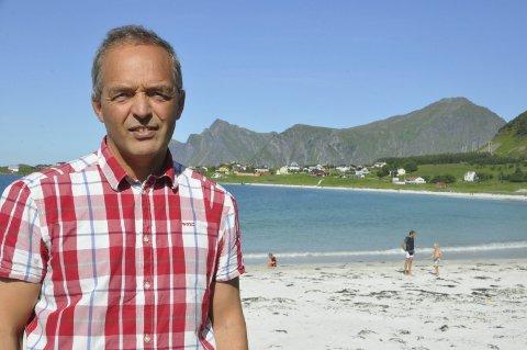 Næringsarbeid: Flakstad-rådmann Erling Sandnes er fornøyd med at Fabrikken næringshage vurderer å etablere seg i Vest-Lofoten.