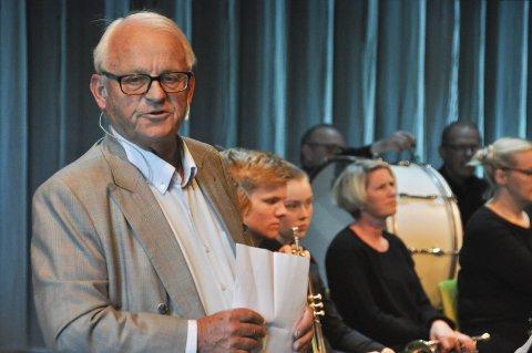 Størst formue: Erik Drechsler i Svolvær har størst formue i Lofoten viser skattelistene for 2018. Her fra presentasjonen av Sjøsiden Boligpark i Lofoten kulturhus i 2017.