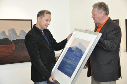 Suksess: Morten Strøksnes har hatt stor suksess med «Havboka». Her under Reine Ord i 2016 der han fikk «Reine Ord-prisen».Foto: Øystein Ingebrigtsen