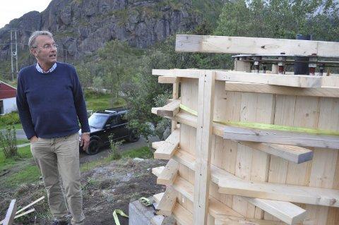 LOFOTKRAFT: Vestvågøy Frp vil åpne for at enkeltkommuner kan selge seg ut av Lofotkraft. – Eierkommuner bør få frihet til å vurdere om verdiene kan brukes på en annen måte enn å stå i selskapet, mener ordførerkandidat Pål Krüger.