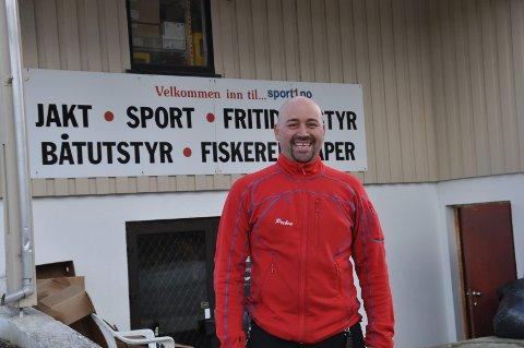 Fornøyd: Preben Ellingsen kan koste på seg et stort glis etter det meget gode fjorårsresultatet. Foto: Kai Nikolaisen