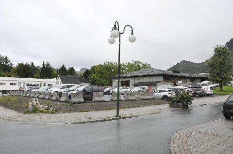 Tomt: Meieritomta og Yrkesskoletomta utpeker seg som areal for mulig parkeringshus. Foto: Synne Mauseth