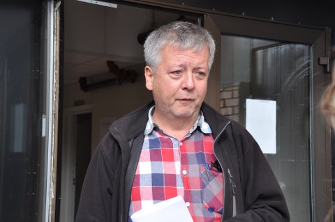 Jan Helge Johansen mister jobben når Svolvær mottak legges ned.