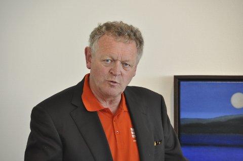 GIR SEG: Wiggo Andersen skapte litteraturfestivalen Reine Ord. Etter 11 utgaver er det nå slutt.